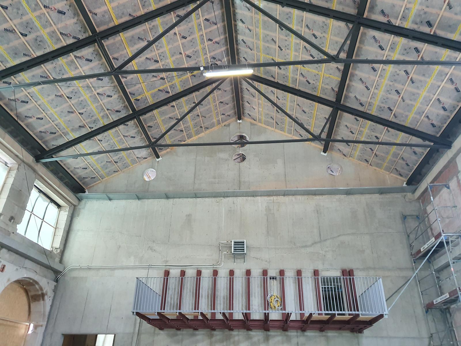 Dachtragwerk Konzertsaal (5)