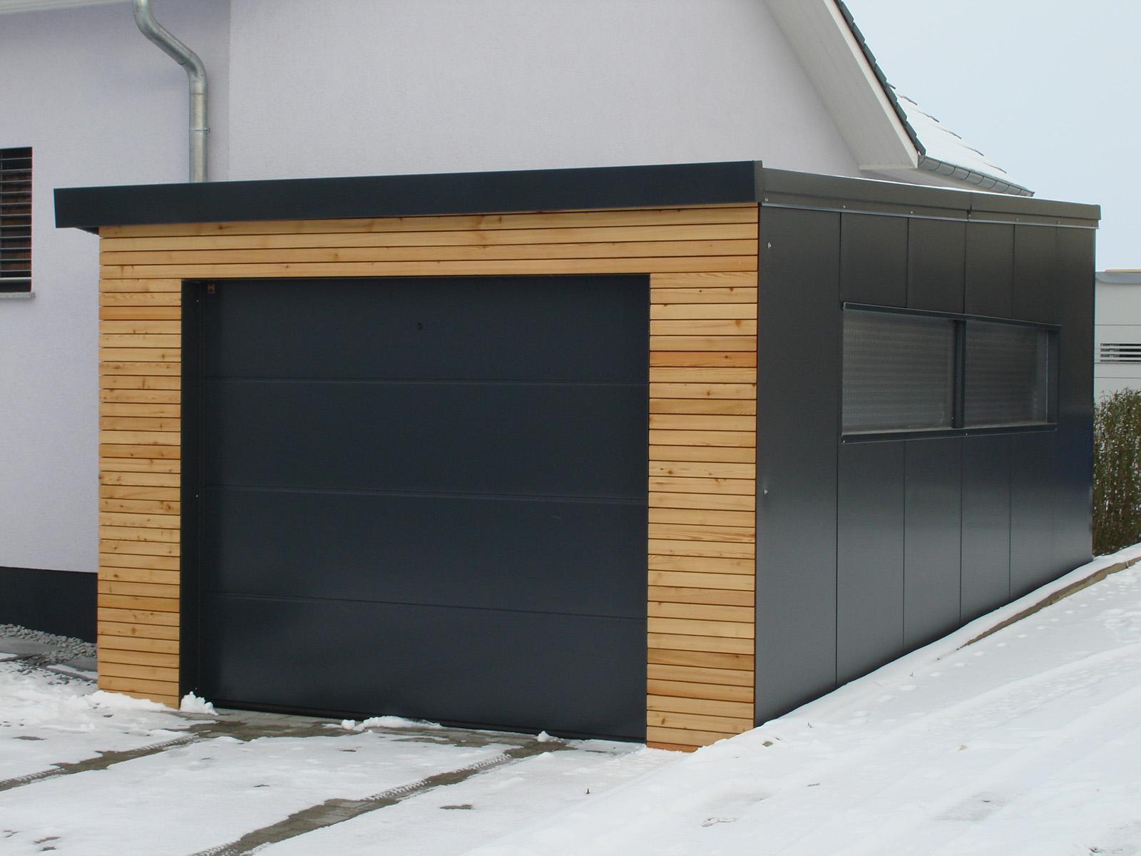 03Carport u. Garage für Strassberger