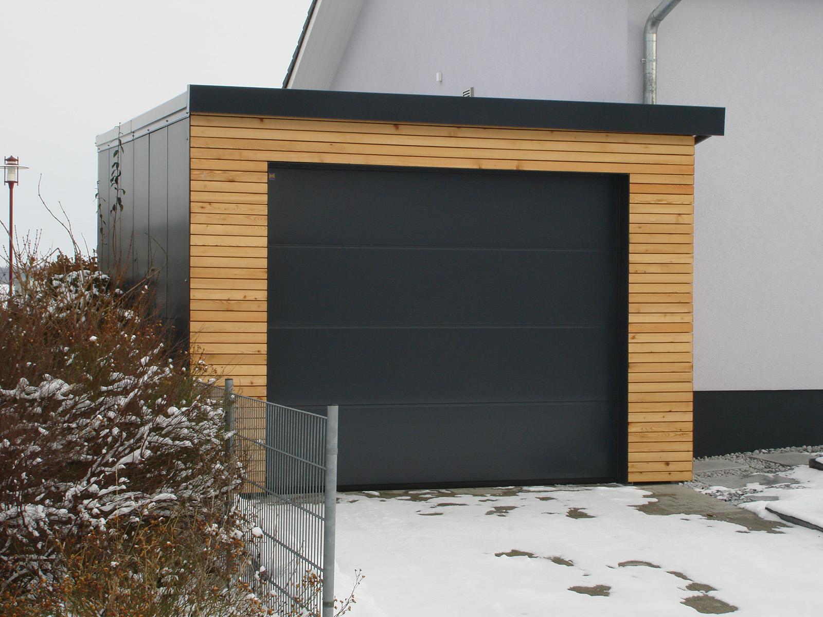 04Carport u. Garage für Strassberger