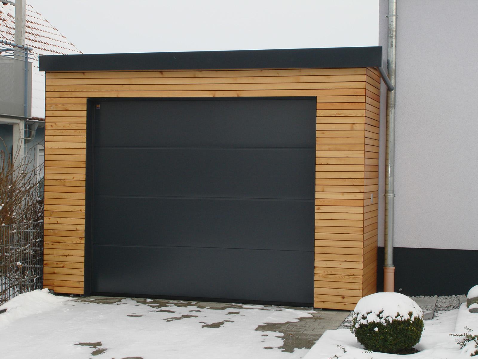 05Carport u. Garage für Strassberger