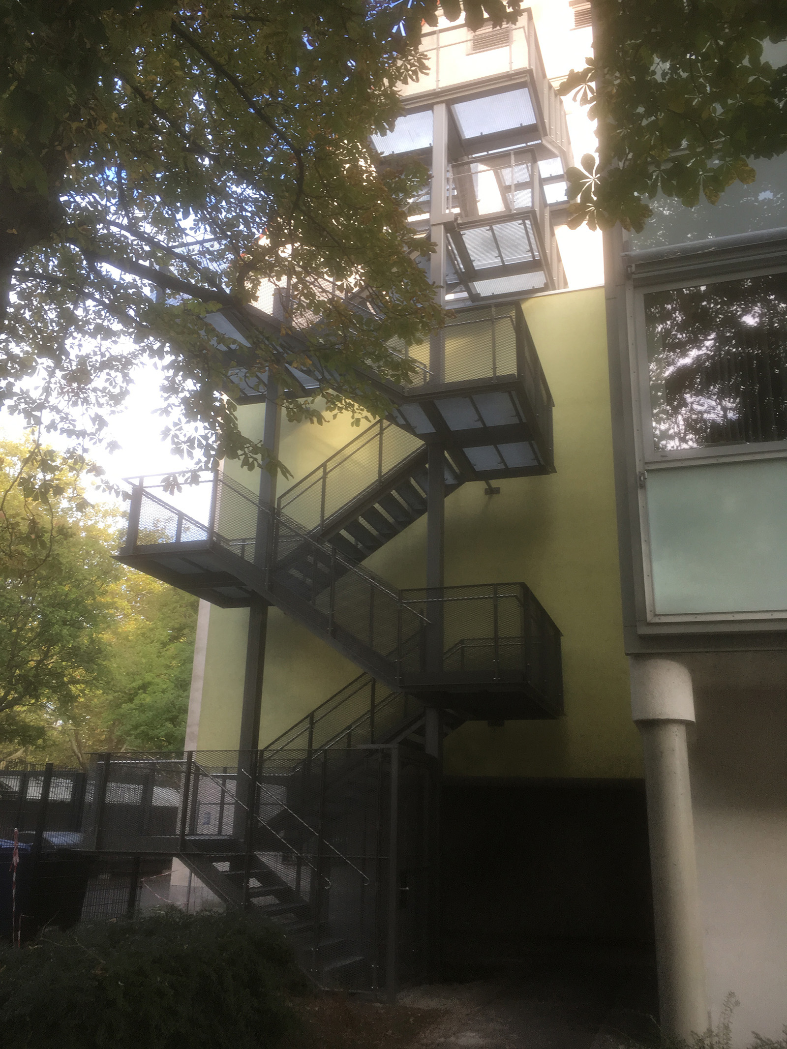 Fluchttreppe FOS Schweinfurt (5)