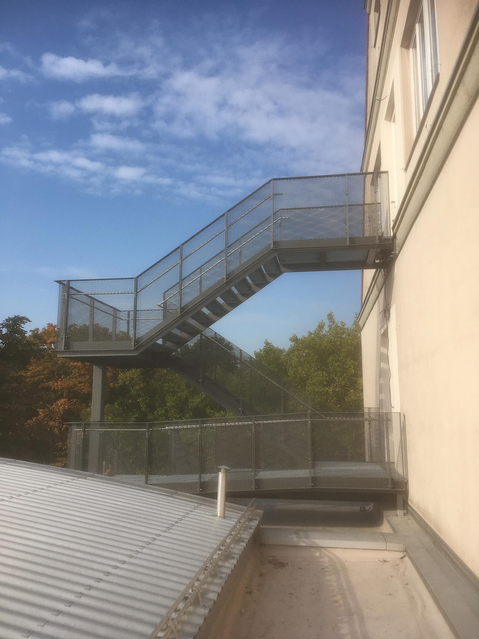 Fluchttreppe FOS Schweinfurt (8)